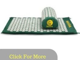 Nayoya Back & Neck Pain Acupressure Mat