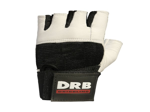 DRB Leather Fitness Training Gloves