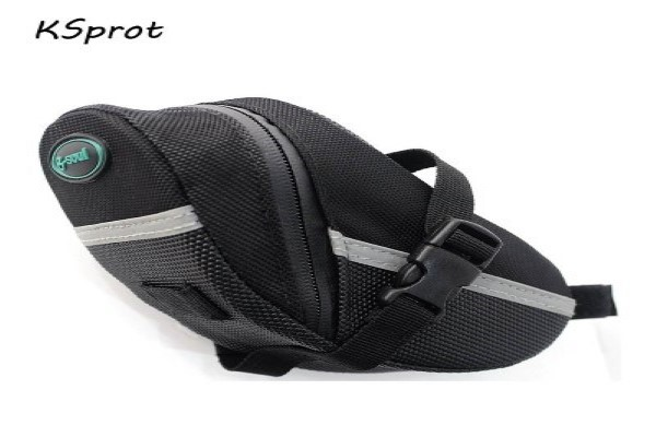 KSprot Bicycle Saddle Bags, Bike Seat Pack, Strap-on Bag