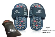 Samba Life Reflexology Sandals Massager Slipper