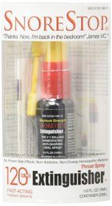 SnoreStop Extinguisher Throat Spray, 120 Sprays 0.6