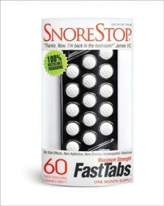 SnoreStop FastTabs 60 Count