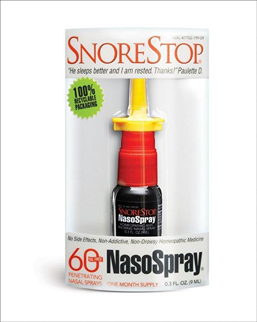 SnoreStop NasoSpray,0.3 Ounce Box