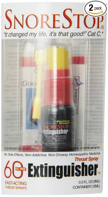 Snorestop Extinguisher 0.3-Ounce Tubes (Pack of 2)