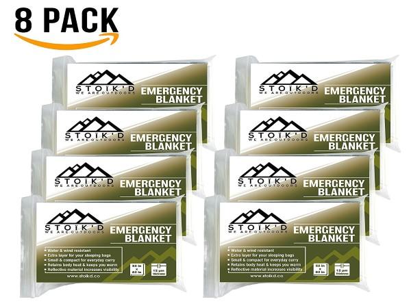 Emergency Blanket Credit Card Survival Tool & Survival Blanket eBook