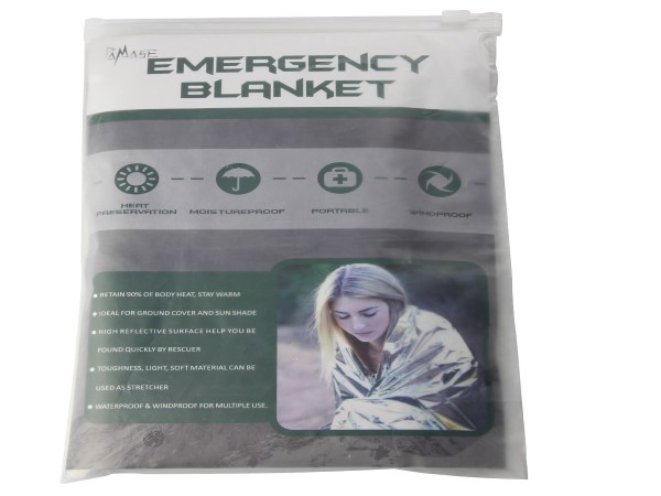 Extra Large Emergency Survival Space Mylar Blanket