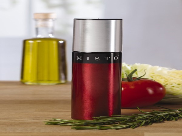 Misto Aluminum Olive Oil Sprayer, Red