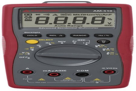 Amprobe AM-510 Commercial/Residential Multimeter