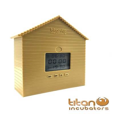 Automatic Chicken Coop - House Door Opener- Closer Timer Unit