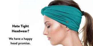 BLOM Original. Women's Headband for Yoga or Fashion,