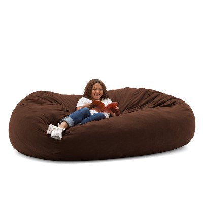 Big Joe XXL Fuf Foam-Filled Bean Bag Chair