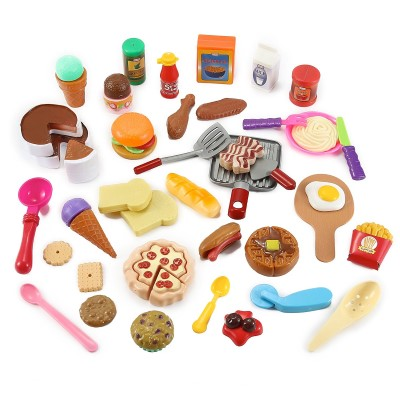 Cooking Chef 50 Piece Pretend Play Food Assortment Toy Set