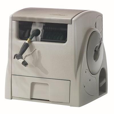 Suncast PW100 Powerwind 100-Foot Capacity Automatic Rewind Garden Hose