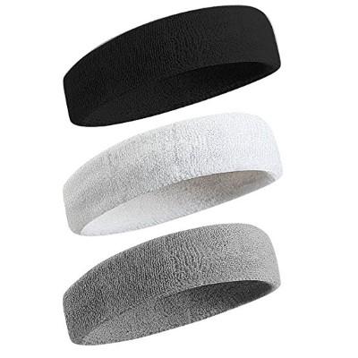 Sweatband Sports Headband - Wristband for Men & Women - 3PCS - 6PCS Moisture