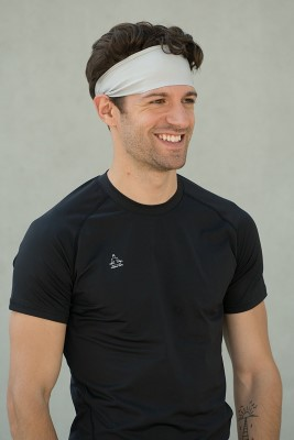 Temple Tape Four Inch Moisture Wicking Workout Sweatband
