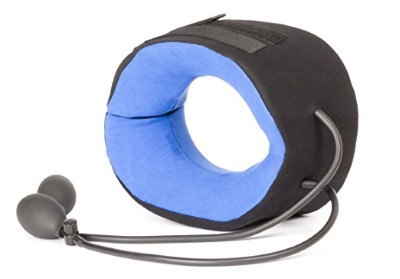 TracCollar Inflatable Neck Traction Device