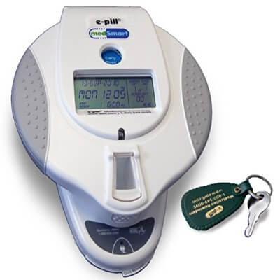 e-pill MedSmart Automatic Locked Automatic Pill Dispenser