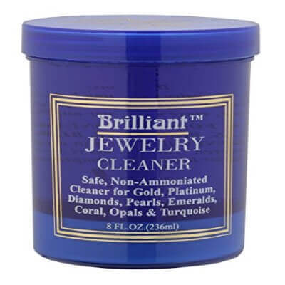 Brilliant® 8 Oz Jewelry Cleaner with Cleaning Basket