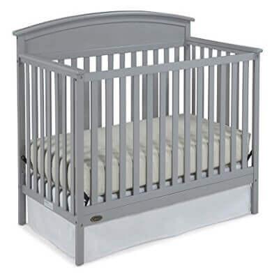 Graco Benton Convertible Crib, Pebble Gray