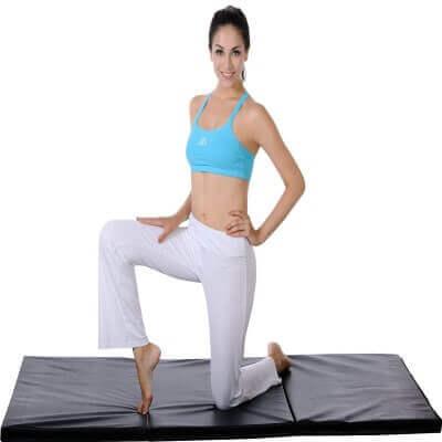 Sunny Health & Fitness Tri-Fold Exercise Mat