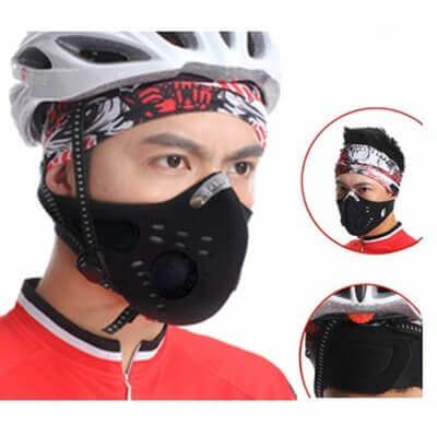 WOLFBIKE Anti-Pollution City Cycling Mask