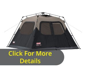An Instant Cabin Tent The Coleman