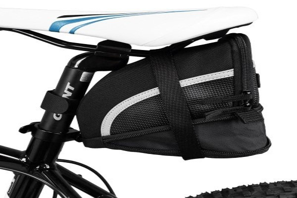BV Bicycle Strap-On Saddle Bag/ Seat Bag