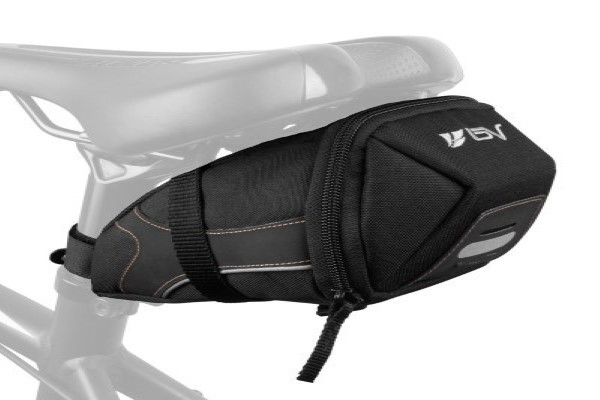 BV Bicycle Y-Series Strap-On Bike Saddle Bag Bicycle Seat Pack Bag