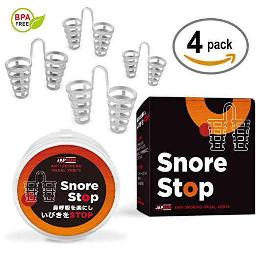 Snore Stop Japanese Standard Anti-Snoring Nose Vents for Anyone