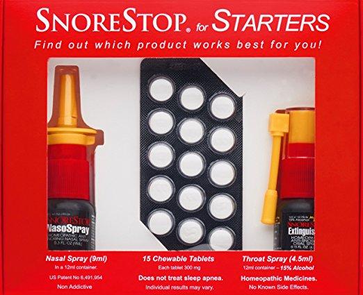SnoreStopStarter Kit