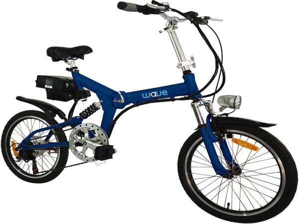Wave Electric Bike Folding