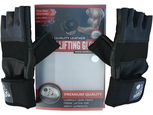 Weight Lifting Gloves With Wrist Wraps Support for Gym Workout