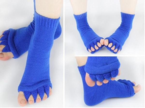 Flesser Toe Separator Socks Yoga Sports GYM