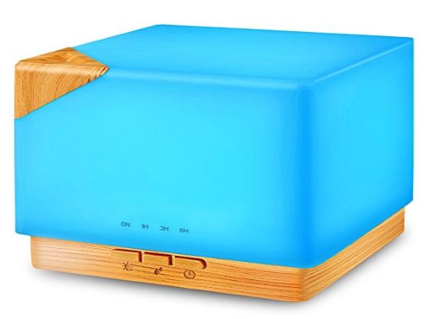 Square Aromatherapy Essential Oil Diffuser