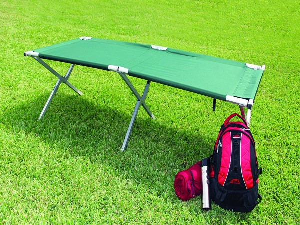 Texsport King Kot Giant Easy Set-Up Folding Sleeping Camp Cot