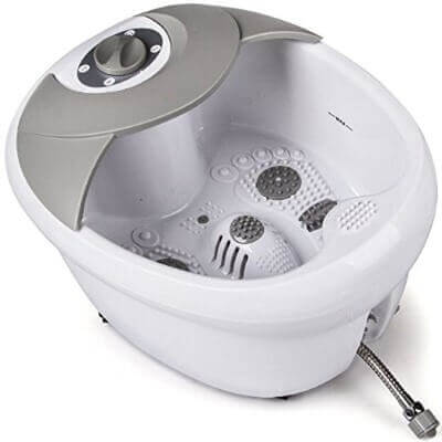 All in one-foot spa bath massager with heat