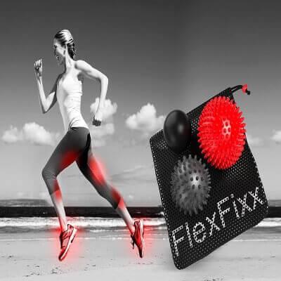FlexFixx MASSAGE BALL THERAPY SET - Foot Massager