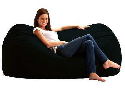 Big Joe Media Lounger Foam Filled Bean Bag Chair