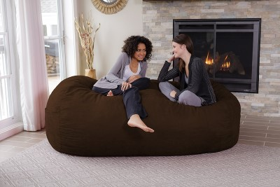 chill Sack Memory Foam Bean Bag Lounger, 7.5-Feet