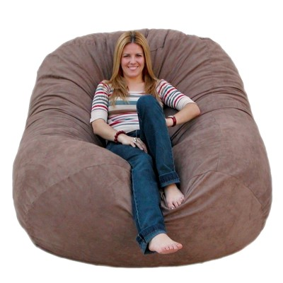 Cozy Sack 6-Feet Bean Bag Chair, Large