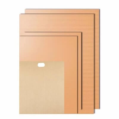 Homaker Copper Grill and Bake Mats with Free Gift Reusable Toaster Bag