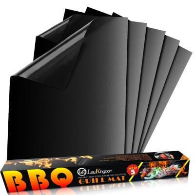 LauKingdom BBQ Grill Mat Accessories Non-Stick