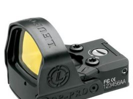 Leupold 119688 Delta Point Pro Reflex Dot Sight (Matte, 2.5 MOA)