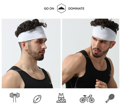 Mens Headband - Guys Sweatband & Sports Headband