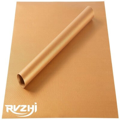 RVZHI Copper Grill Mat Set of 2 - Non-stick BBQ Grill