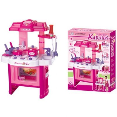 Velocity Toys Deluxe Beauty Kitchen Appliance Cooking Play Set 24