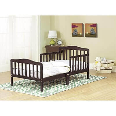 Orbelle 3-6T Toddler Bed, Espresso