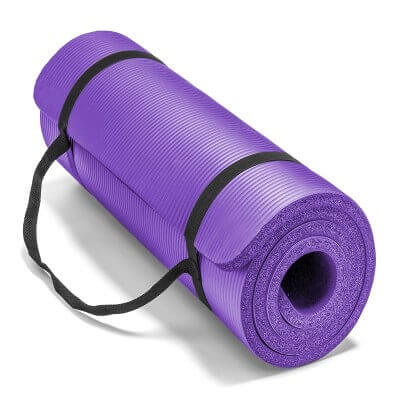 Spoga Premium Extra Thick Density Exercise Yoga Mat