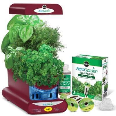 AeroGarden Sprout with Gourmet Herb Seed Pod Kit