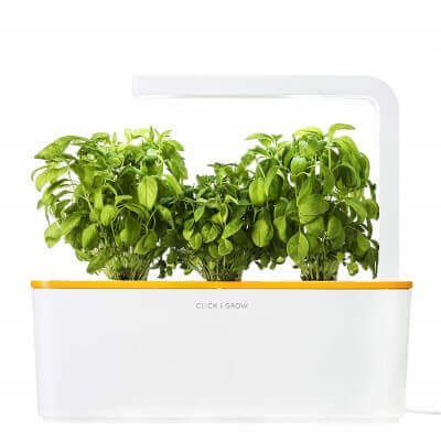 Click & Grow Indoor Smart Fresh Herb Garden